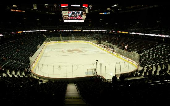 The Scotiabank Saddledome: Saddledome