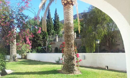 Sunsea Village: Utsikt fra veranda/spiseplassen