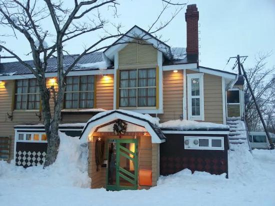 outside view winter picture of country inn milky house niseko rh tripadvisor co za
