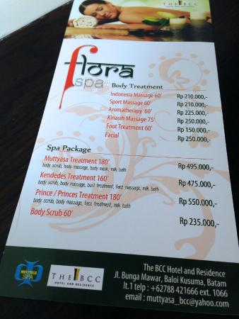 The BCC Hotel & Residence: Hotel Spa & Massage