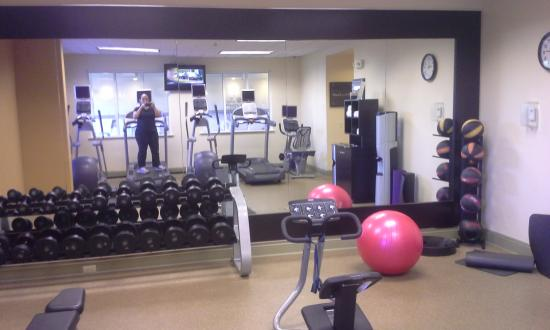 Hilton Garden Inn Jackson/Madison: exercise room