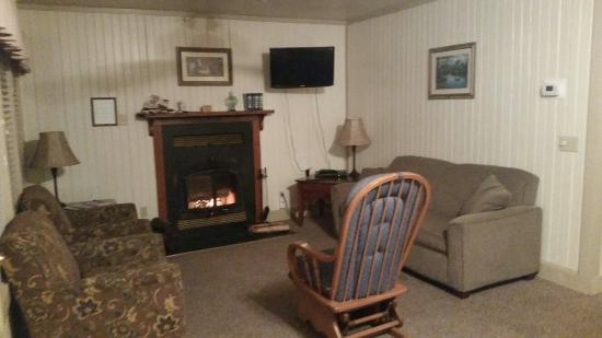 Lake Catherine State Park: Very clean cabin with fireplace!