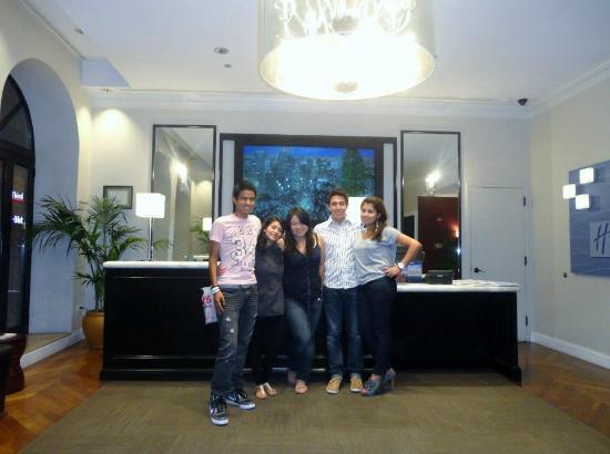 Holiday Inn Express Hotel Cass: The Lobby!!!