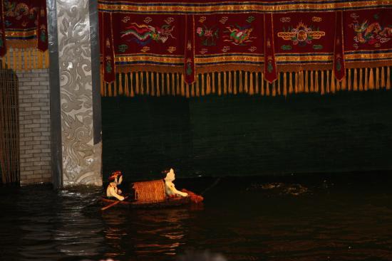Thang Long Opera Hotel: театр на воде