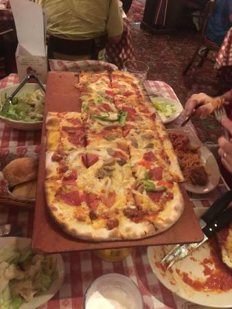 Buca di Beppo: Supreme Pizza