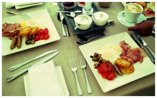 Cinnamon Boutique Guest House: Cinnamon Boutique Breakfast aka English breakfast