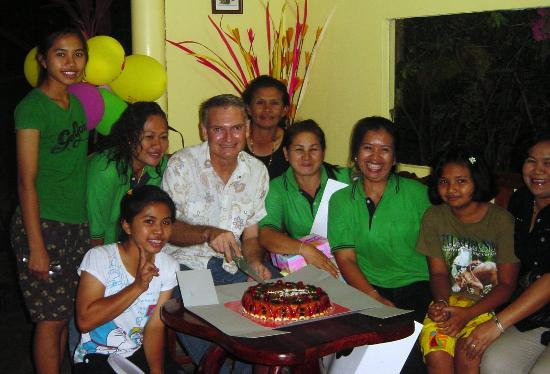 Wang Nam Yen, Thailand: My birthday party