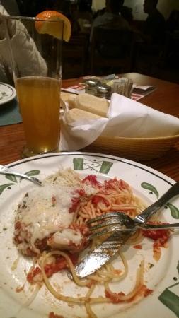 Olive Garden: Chicken parmegiana