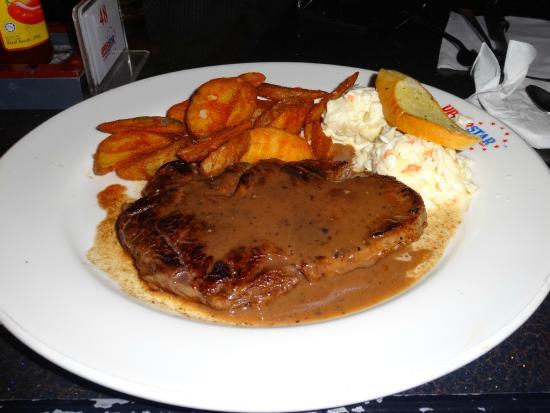 UPPERSTAR STEAK & CHICKEN RESTAURANT: Tenderloin steak