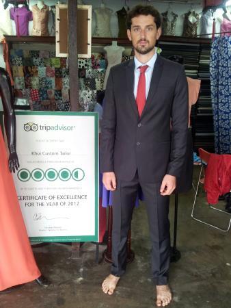 Khoi Custom Tailor : Excellent work, super friendly service!