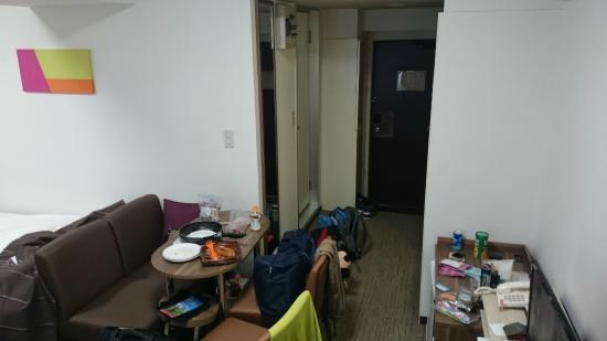 Hotel Mystays Ueno Iriyaguchi: triple room