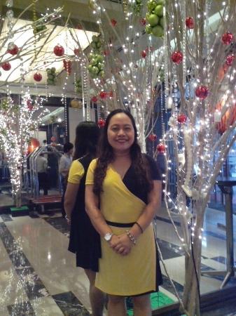 Ramada Manila Central: at the hotel lobby
