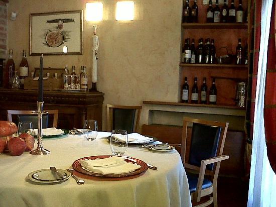 Dulcis Vitis: sala da pranzo