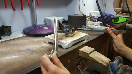 Ever True Jewellery - Handmade 925 Silver Jewellery Workshop: Not sure what this process was called
