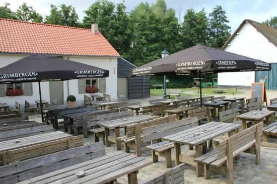 Grimbergen, Belgia: Tommenmolen Museumcafe