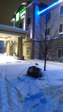Holiday Inn Express Hotel & Suites Eau Claire North : Fachada do hotel