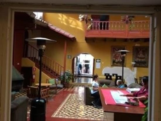 Hospedaje Turistico San Blas: Main living area