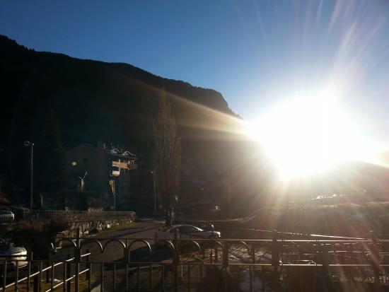 Sant Moritz Apartments: Vistas excelentes