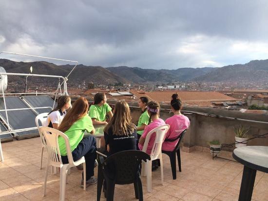 Hospedaje Turistico San Blas: Roof terrace