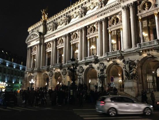 op ra garnier place de l 39 op ra picture of palais garnier opera national de paris paris. Black Bedroom Furniture Sets. Home Design Ideas