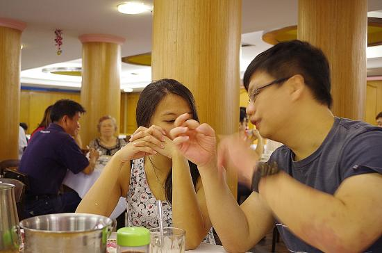 Dim Sum: Couple in the Restaurant