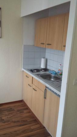 Bearlin City Apartment Ansbacherstrasse: C'è l'essenziale in cucina