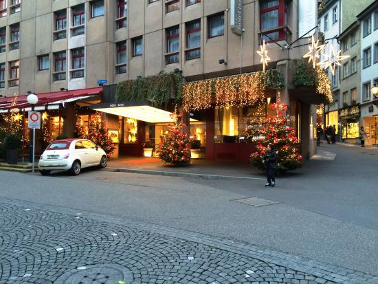 The Hotel Basel at Christmas 2014