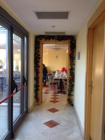 Aphrodite Hotel: Sala della colazione