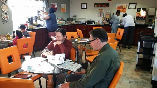 Quality Inn Marietta : Actual breakfast area photo taken Dec 26 2014