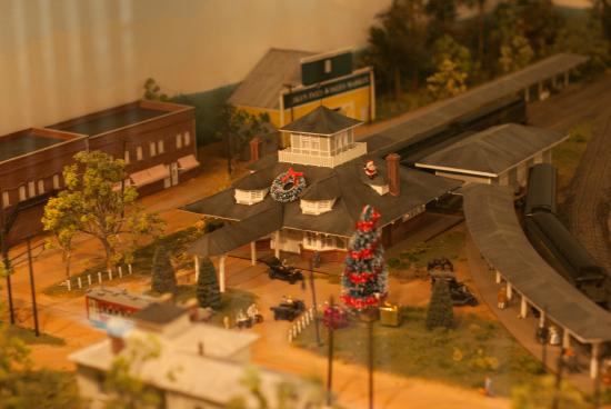 Aiken Visitors Center and Train Museum: Aiken Tain Depot as it was in 1916