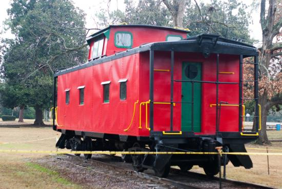 Aiken Visitors Center and Train Museum: The Red Caboose