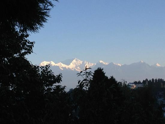 Sinclairs Darjeeling: View from the room window