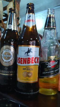 La Jirafa: cervejas