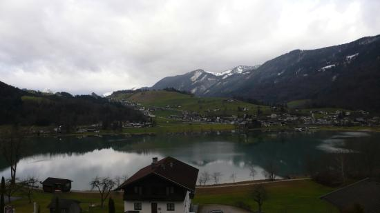 Thiersee, Austria: All the rooms are facing the lake.