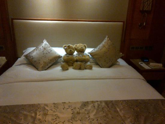 Empark Grand Hotel Anhui: bed