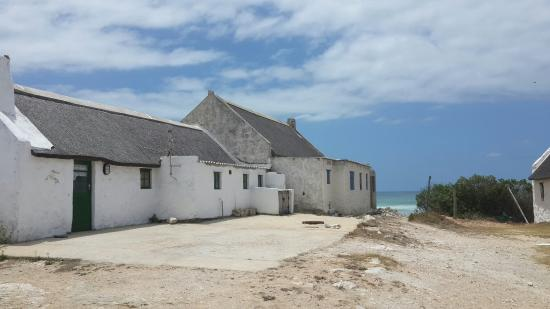 Arniston, Sudáfrica: The typical house you will find in kassiesbaai.