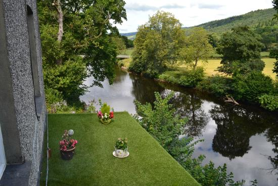 The Courthouse (Henllys): View from Lawyer's room