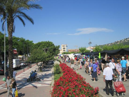 Costa Brava, Spanje: Marché de Platja d'Aro