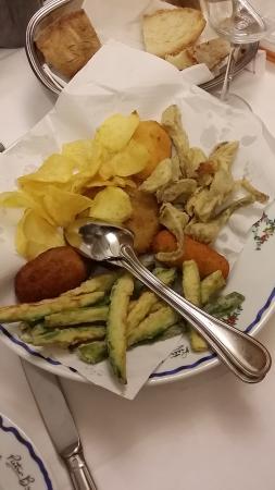 Il Toscano: fritturina di antipasto