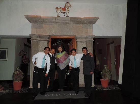 Aranwa Sacred Valley Hotel & Wellness: Nuestros Amigos
