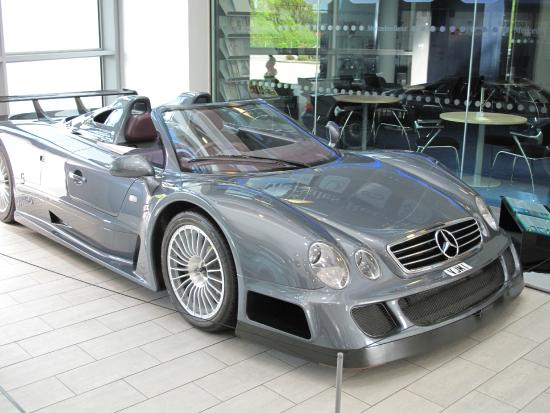 Merc picture of mercedes benz world at brooklands for Mercedes benz brooklands