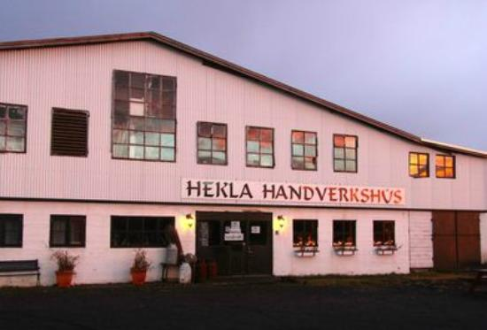 MudShark Tours: In Hella, once a slaughterhouse, now a centre for hand craft