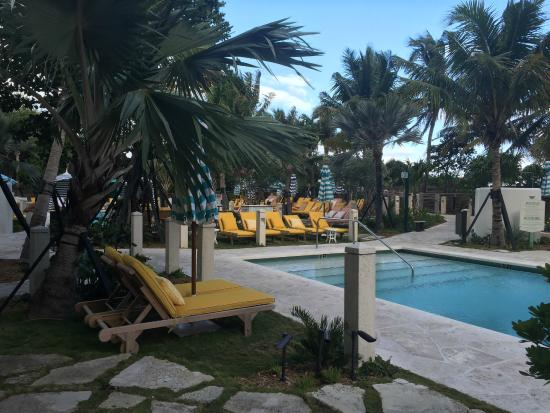 The Confidante Miami Beach Thompson Hotel Pool Area