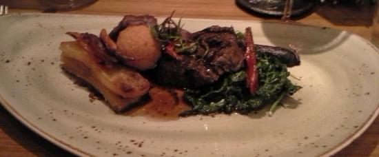Restaurant Martin : Ribeye with Braised Short RIb