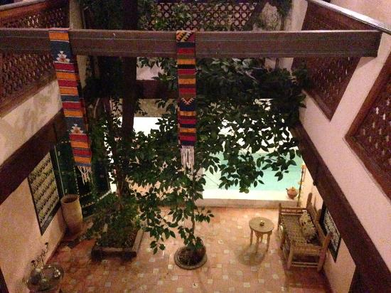 Dar Choumissa: Courtyard and plunge pool
