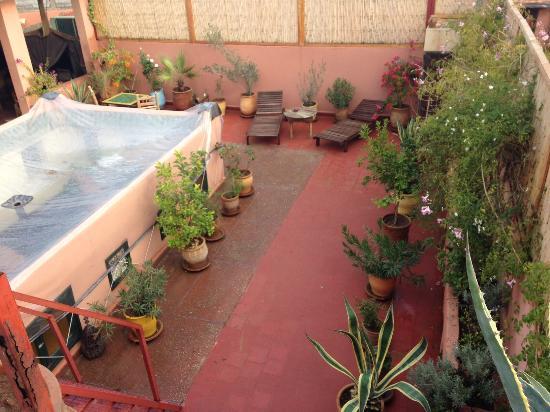 Dar Choumissa: Rooftop garden