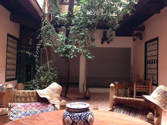 Dar Choumissa: Central courtyard