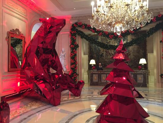 Great Christmas Decoration In The Lobby Picture Of