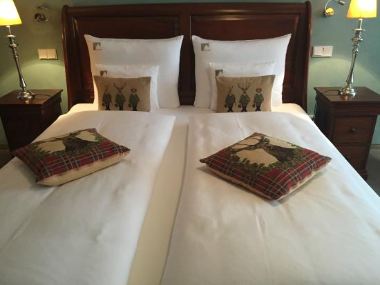Hotel Herrnschloesschen : Beds