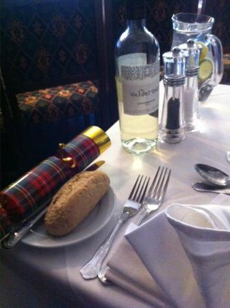 Kilconquhar Castle Estate and Country Club: Festive Table Setting